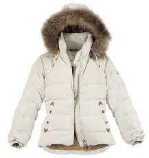 Aigle Ladies Oldhaven Jacket Ivory